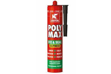 GRIFFON Poly Max Lijmkit Express Zwart