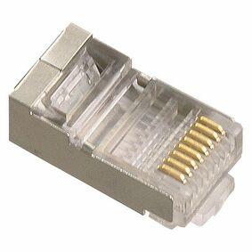 ql ftp connector afgeschermd 8-plg rj45 (set van 6 stuks)