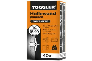 TOGGLER TC Hollewandplug 15-19mm