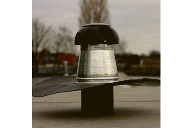 BOSSCOVER Dakdoorvoer Met Ontluchting En Plakplaat Zelfklevend Aluminium/EPDM 110mm