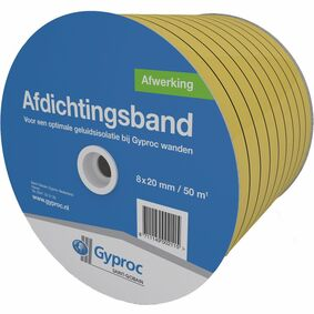gyproc isolatieband pe 8x10mm 10m