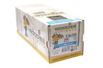 WOODIES Ultimate Schroef Verzonken Kop Torx T25 5,0x100/60mm Verzinkt