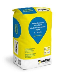 weberdry cemfast hoekafrondingmortel zak a 25kg