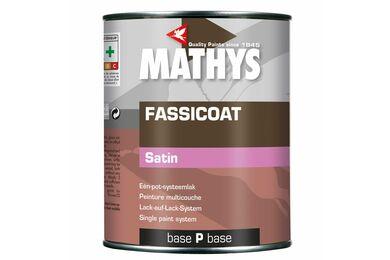 MATHYS Fassicoat Satin Systeemlak Basis Satin Pastel 1ltr