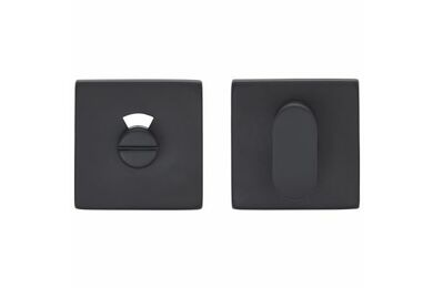 SKANTRAE Toiletgarnituur Vierkant Houston Mat Zwart