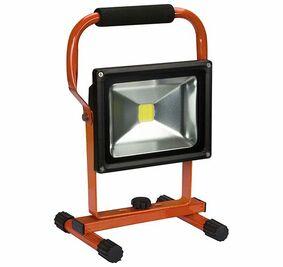 perel led-werklamp op accu 20w ip44 lion