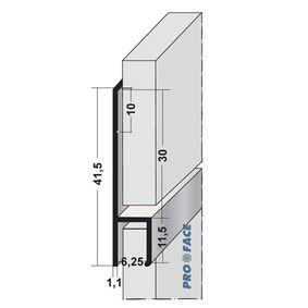 rockpanel stoeltjesprofiel a basic 3055x6