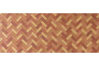 Fitwall Creative Wandpaneel Oz Red Clay 3085x1230x7mm