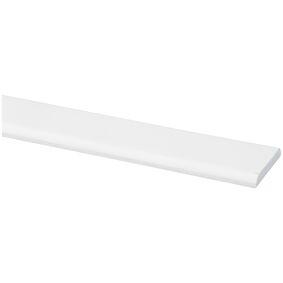 grenen deklijst wit gegrond fsc mix 70% 4x30x2700