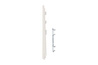 KERALIT 2874 Eindkap + Connector Links Voor 2817 Snowwhite Pure