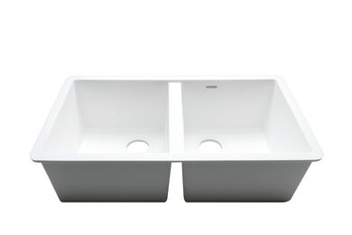 Krion Solid Surface Spoelbak C826 E Snow White 770x400x234mm