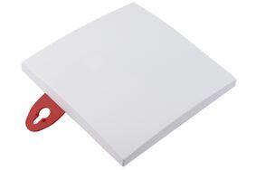 plafondafdekplaat vierkant 110x110mm wit