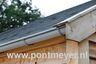 blokhut / prieel solide mastgootset 100mm compleet voor 4-kant dak 5m