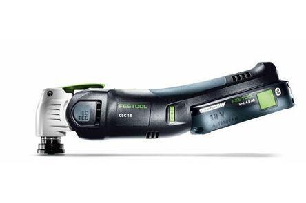 festool accu-oscillerende machine osc 18 hpc 4,0 ei-plus vecturo