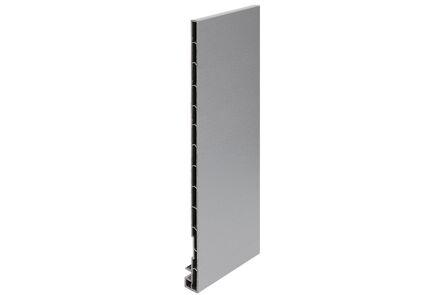 keralit dakrandpaneel 2831 classic grijs 7001 300x20x10 6000mm