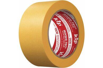 KIP Washi-Tec Fineline Tape 3508 Geel 48mm 50m