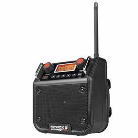 perfectpro bouwradio mybox(2) digitaal zwart