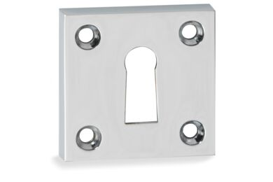 IMPRESSO Rozet Sleutel vierkant Schroef Modulair Chroom