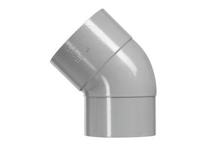 pvc lijm-bocht 45° mof/spie