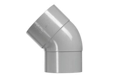 MARTENS PVC Bocht HWA 1x lijmmof 45° Diameter 80mm