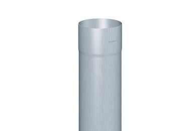 RHEINZINK HWA Buis Gelast Walsblank 80x0,65x2000mm