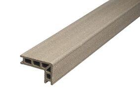upm profi deck 150 hoekafwerking/traptrede zilvergroen 68x110x4000