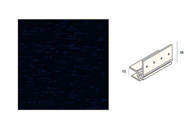 KERALIT 2867 Dakrandmontageprofiel 10mm Monumenten Blauw Classic Nerf 6000mm