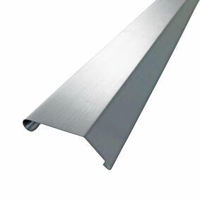 rheinzink quick-fix deklijst 135° walsblank 45/50x3000