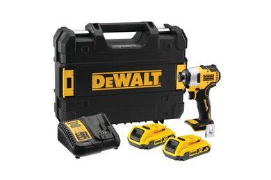 DEWALT DCF809D2T-QW XR Slagschroevendraaier 18V 2x 2,0Ah Brushless