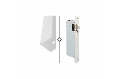 SKANTRAE Hang- en Sluitwerkpakket HSP714 Rolslot Vernal Wit T.B.V. SSL Series