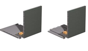 keralit dakrandmontageclip 2845 zwart 10mm