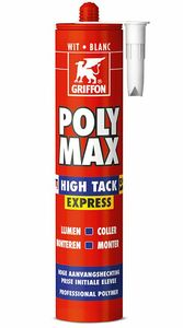griffon polymax express high tack wit 435gr