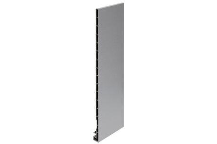 keralit dakrandpaneel 2835 classic grijs 7001 350x20x10 6000mm