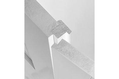 SKANTRAE Tongnaaldset Per Set Dubbele Opdekdeur Wit 35x43x2440mm