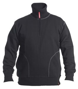 engel sweatshirt hoge kraag zwart maat m