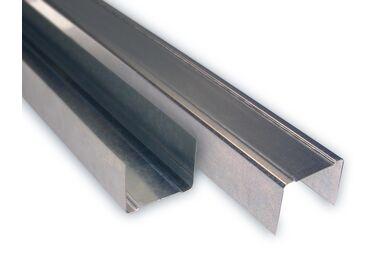 Metalstud Horizontaal Wand profiel UN70 Staal 4000mm