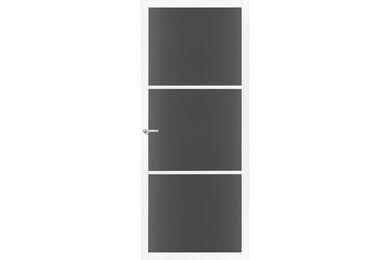 SKANTRAE SSL 4403 Rook Glas Stompe Deur FSC MAATWERK T/M 2315mm