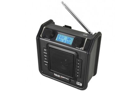 perfectpro dab+radio soliddigital zwart (outlet)