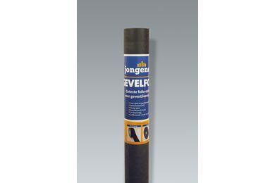JONGENEEL Gevelfolie Dampopen UV Bestendig B-s1 d0 Zwart Zeflklevend 1500mm rol 50m