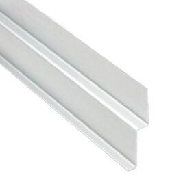 eternit aluminium startprofiel everest wit c01 3000mm