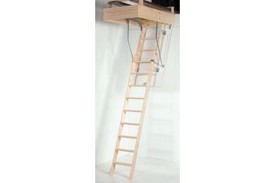 Vlieringtrap 2 Delig Plafondhoogte: 2600mm 1100x700mm