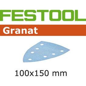 festool granat schuurblad delta/7 stickfix p80 100x150mm (set van 10 stuks)