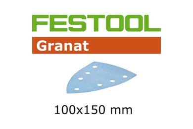 FESTOOL Schuurpapier Granat STF DELTA/7 P80 GR/10