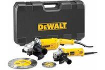 DEWALT DWE492SDT 230mm Haakse Slijper + 125mm Slijper In Koffer