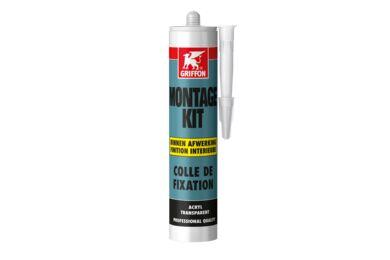 GRIFFON Montagekit Acryl Transparant 310ml