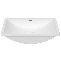 Krion Solid Surface Spoelbak B822 E Snow White 550x350x188mm