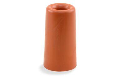 Deurbuffer Rubber Rood 30x50mm