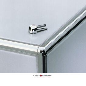schluter hoekje aluminium voor ro80bw 8mm wit