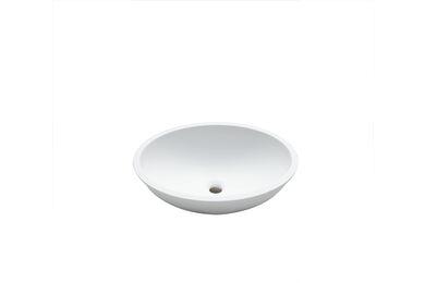 Krion Solid Surface Spoelbak B413 E Snow White 465x370x160mm