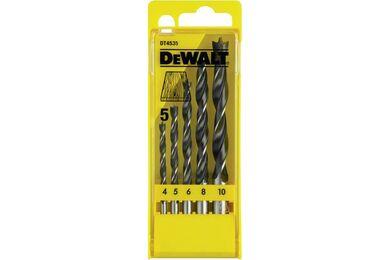 DEWALT DT4535-QZ Houtspiraalboorset 5-delig